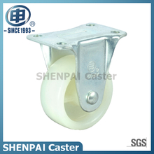"1.5""Micro Duty White PP Rigid Caster Wheel"