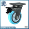 "8""Iron Core Blue Nylon Swivel Locking Caster Wheel"