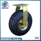 "10""Rubber Pneumatic Swivel Caster Wheel"