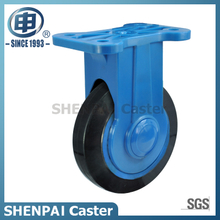 "4""Rubber Rigid Silent Caster Wheel"