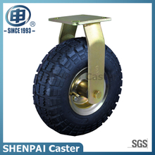 "8""Rubber Pneumatic Rigid Caster Wheel"