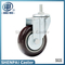 "4"" Nylon Threaded Stem Swivel Caster Wheel"