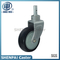 "5""PU Stem Swivel Medical Equipment Caster Wheel"