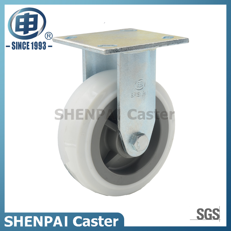 6 Inch nylon Rigid Industrial Caster Wheel