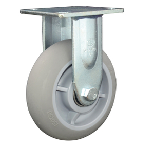 6' TPR Rigid Caster Wheel for Heavy Duty