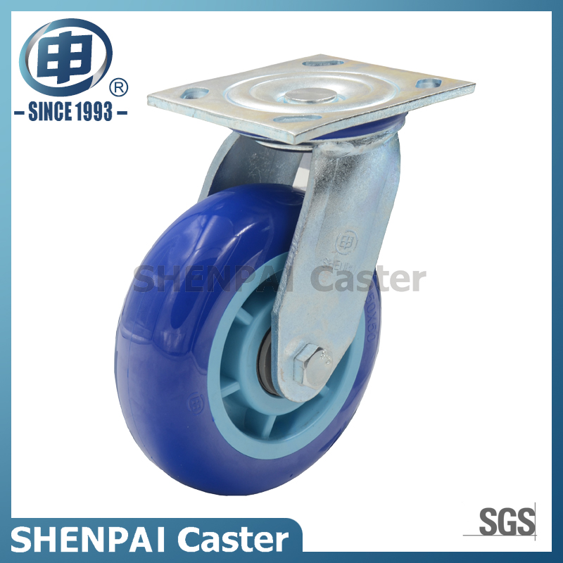 Heavy Duty Super Polyurethane Swivel Industrial Caster Wheel