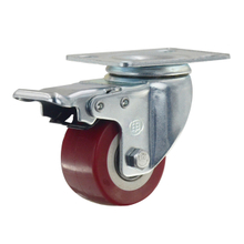 "2"" Polyurethane Swivel Caster Wheel with brake"
