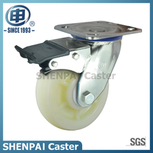 "4""Stainless Steel Bracket Swivel Locking PP Caster Wheel"